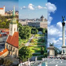 Budapest Vienna Bratislava
